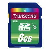 SDHC TRANSCEND 8G Class 4