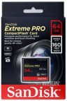 CF SanDisk Extreme Pro (1067x - 160Mbps - 4K Video) 64GB