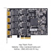 Thẻ thu PCIe Quad-Channel Full HD HDMI